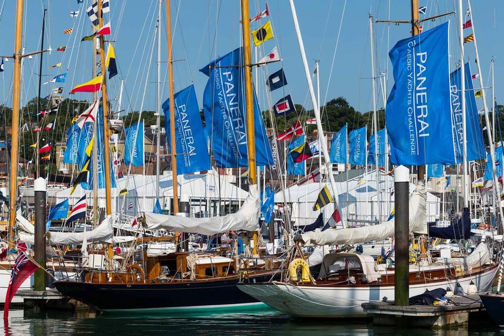 Panerai British Cassic Week 2013 - Cowes Yacht Haven ©  Panerai/Guido Cantini/Sea See http://www.seasee.com/