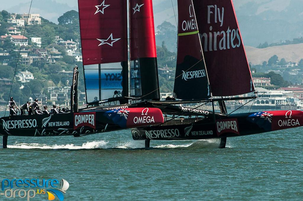 Emirates Team NZ - San Francisco, May 23, 2013 © Erik Simonson/ pressure-drop.us http://www.pressure-drop.us