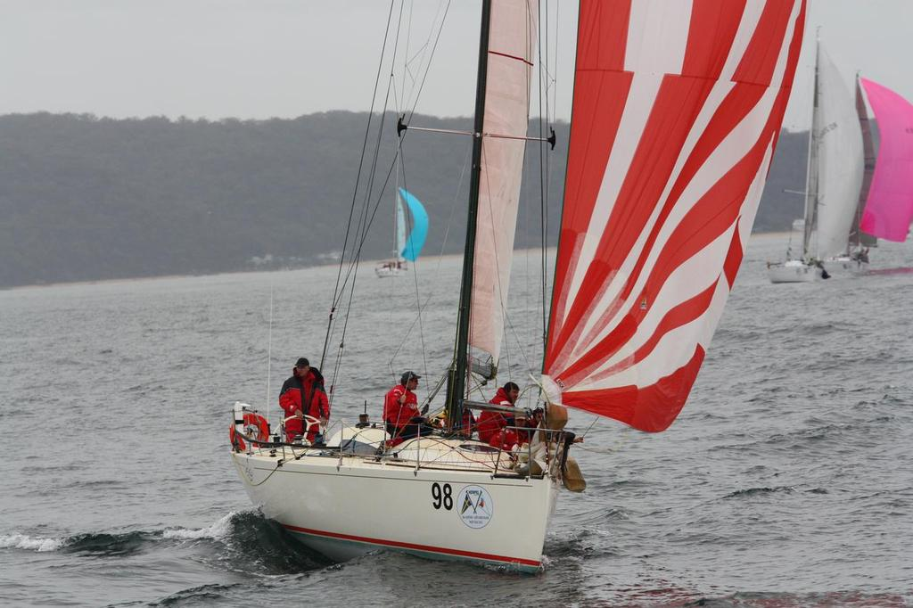 Zoe start - Hempel Gosford to Lord Howe Island Yacht Race 2013 © Ash Evans