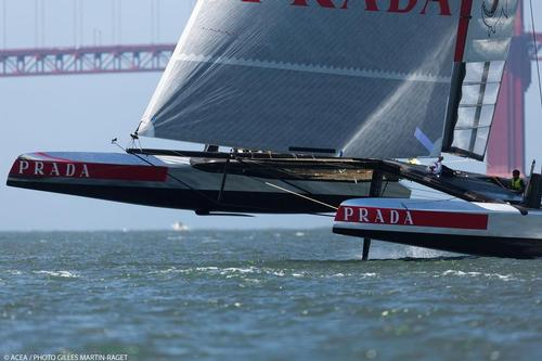 Luna Rossa - May Training, 3 AC72 in the bay for the first time © ACEA - Photo Gilles Martin-Raget http://photo.americascup.com/