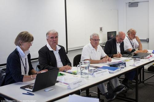 Not required - the International Jury for the 33rd and 34th America's Cup : Josje Hofland (NED),  Graham McKenzie (NZL),  David Tillett (AUS), Bryan Willis (GBR), John Doerr (GBR), © ACEA - Photo Gilles Martin-Raget http://photo.americascup.com/