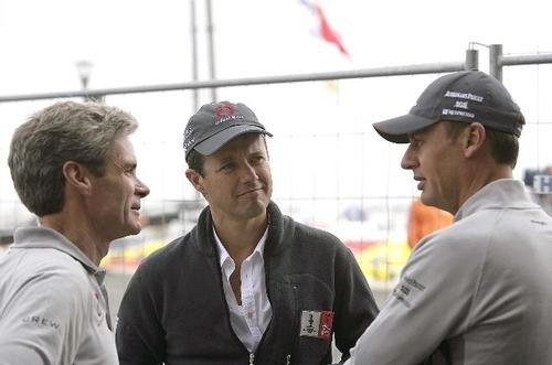 Grant Simmer (left) won two America's Cups as design co-ordinator for Alinghi © Louis Vuitton