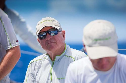 Jim Swartz, Godfather of the 2013 edition of Les Voiles de Saint Barth and owner of Vesper © Christophe Jouany / Les Voiles de St. Barth http://www.lesvoilesdesaintbarth.com/