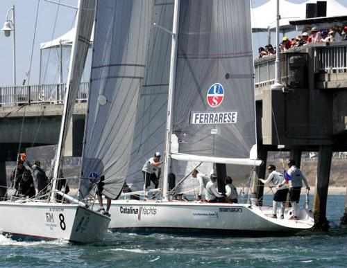 49th Congressional Cup Day 3 - Ferrarese © Rich Roberts http://www.UnderTheSunPhotos.com