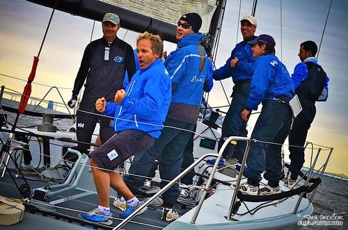 Skipper Alberto Rossi and the Enfant Terrible team are coming off an impressive victory at the Farr 40 East Coast Championship. - Farr 40 Class at New York Yacht Club Annual Regatta © Sara Proctor http://www.sailfastphotography.com
