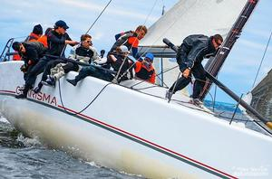 Charisma, owned by Nico Poons of Monaco, has won three of five races held so far and holds second place in the 159th New York Yacht Club Annual Regatta, presented by Rolex photo copyright Sara Proctor http://www.sailfastphotography.com taken at  and featuring the  class