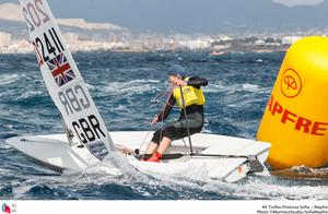 44 Trofeo Princesa Sofia Mapfre Medal Race, day 6 - Laser Radial; GBR; GBR-202411; 3; Alison Young photo copyright MartinezStudio.es taken at  and featuring the  class