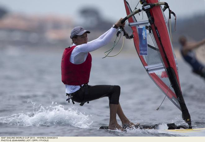 Charline Picon, Women's RS:X - 2013 ISAF Sailing World Cup ©  Jean-Marie Liot /DPPI/FFV