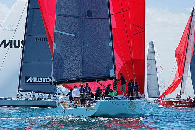 Sailing: TP52 Southern Cross Cup - Frantic  © Teri Dodds