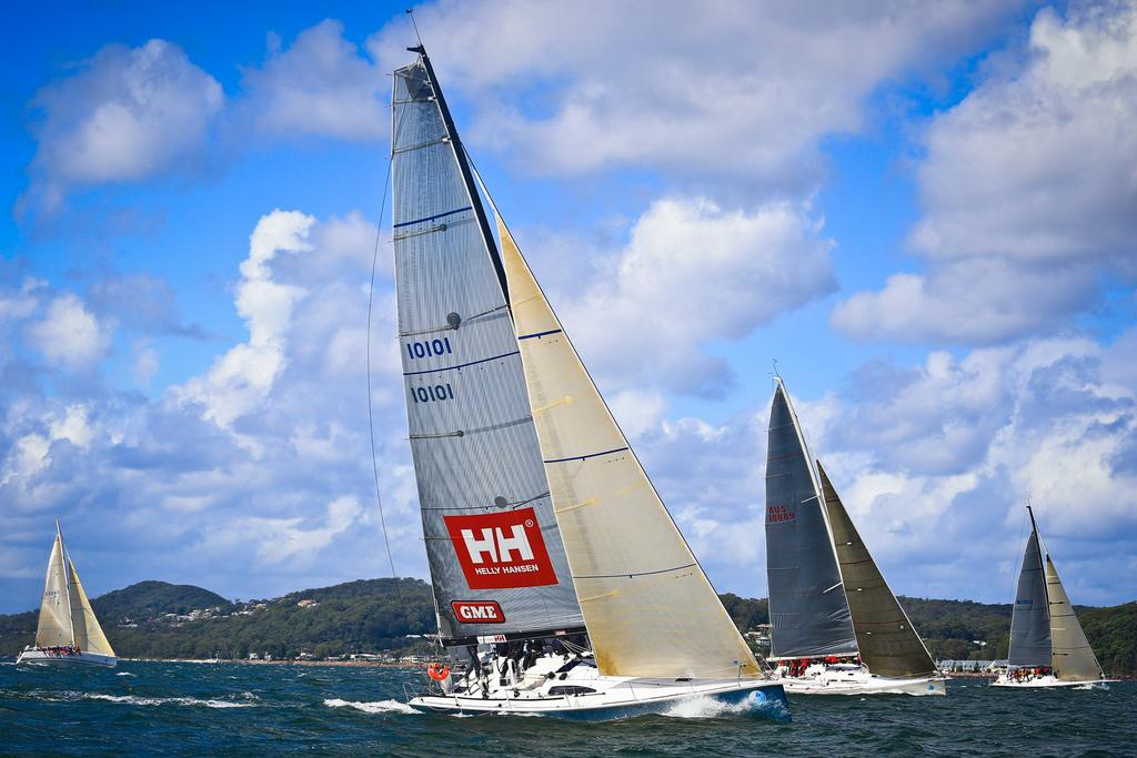 Equinox, 2013 Sail Port Stephens day 4 racing © Craig Greenhill Saltwater Images - SailPortStephens http://www.saltwaterimages.com.au