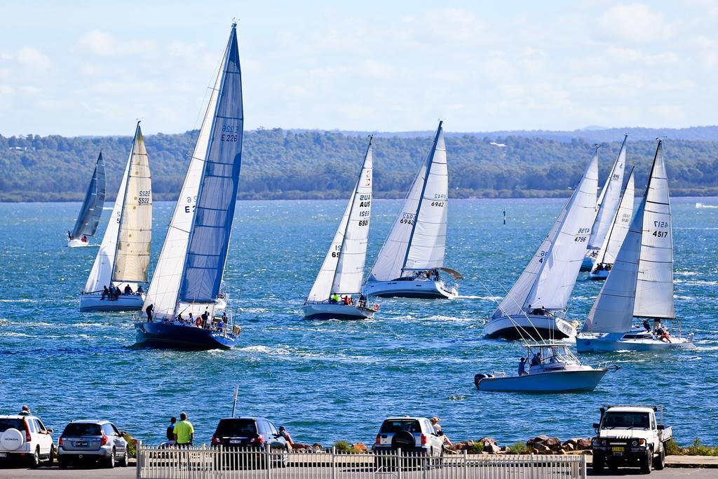 Day 6 racing © Craig Greenhill Saltwater Images - SailPortStephens http://www.saltwaterimages.com.au