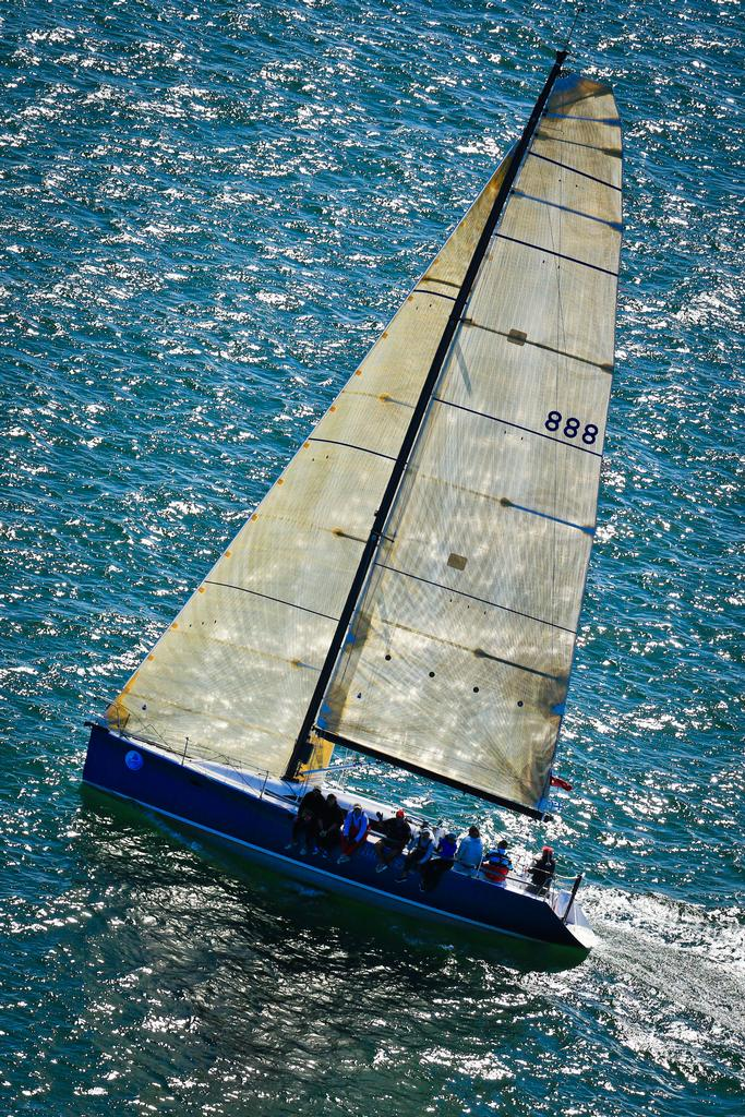 Huntress, performance racing, day 6 racing © Craig Greenhill Saltwater Images - SailPortStephens http://www.saltwaterimages.com.au