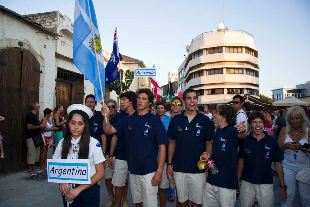 2013 Sail First ISAF Youth World Championship - Opening ceremony © ISAF