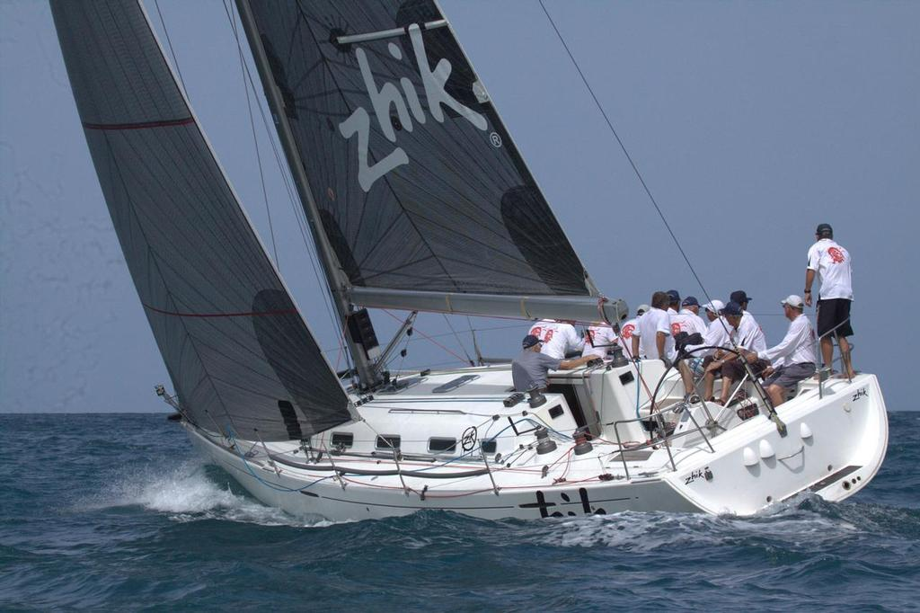 Fujin on their way to two more wins in IRC Racing II today. - Cape Panwa Hotel Phuket Raceweek 2013 © Event Media