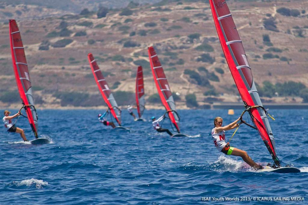 RSX Girls - 2013 ISAF Youth World Sailing Championships ©  Icarus / ISAF Youth Worlds http://www.isafyouthworlds.com/