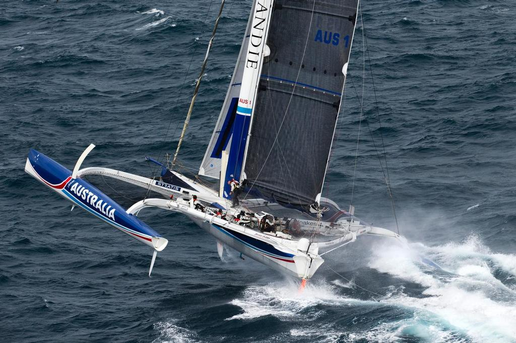 Team Australia setting world sailing record from Sydney to Hobart - A2B Ocean Race ©  Andrea Francolini Photography http://www.afrancolini.com/