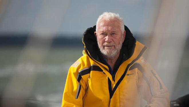 Sir Robin Knox-Johnston - telling tales at the Royal Southern Yacht Club's Fitting Out Supper.  ©  Paul Hankey