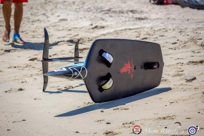 Raptor concept foiling board - The Kite Foil Gold Cup © Michael Petrikov