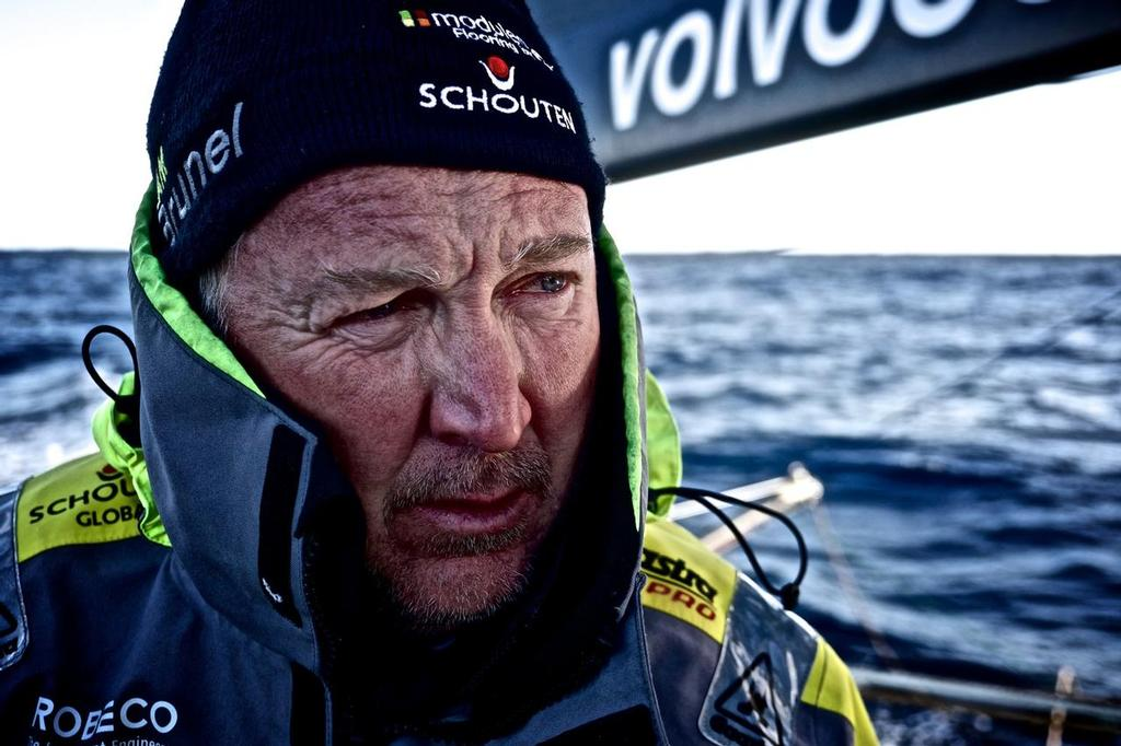 Andrew Cape (AUS)  Leg 5 to Itajai onboard Team Brunel. Day 7. 2014/15 Volvo Ocean Race © Stefan Coppers/Team Brunel