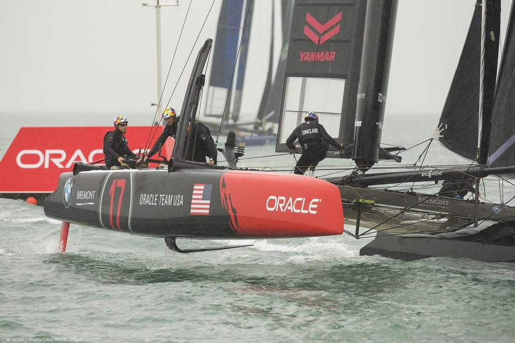 Oracle Team USA, Practice Day 35th America's Cup, Louis Vuitton America's Cup World Series Portsmouth 2015 © ACEA /Gilles Martin-Raget