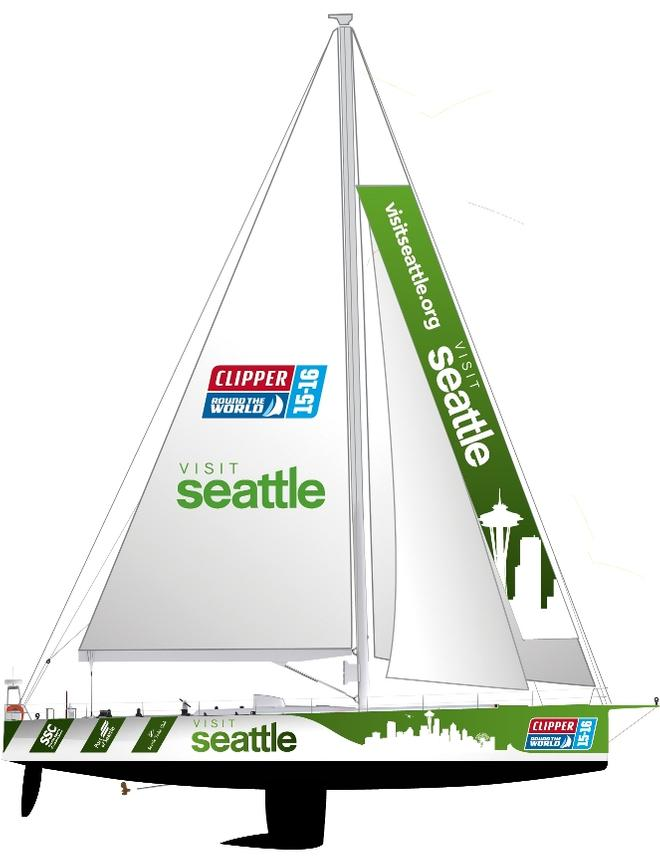 Clipper Seattle - Clipper 2015-16 Round the World Yacht Race © Clipper Ventures