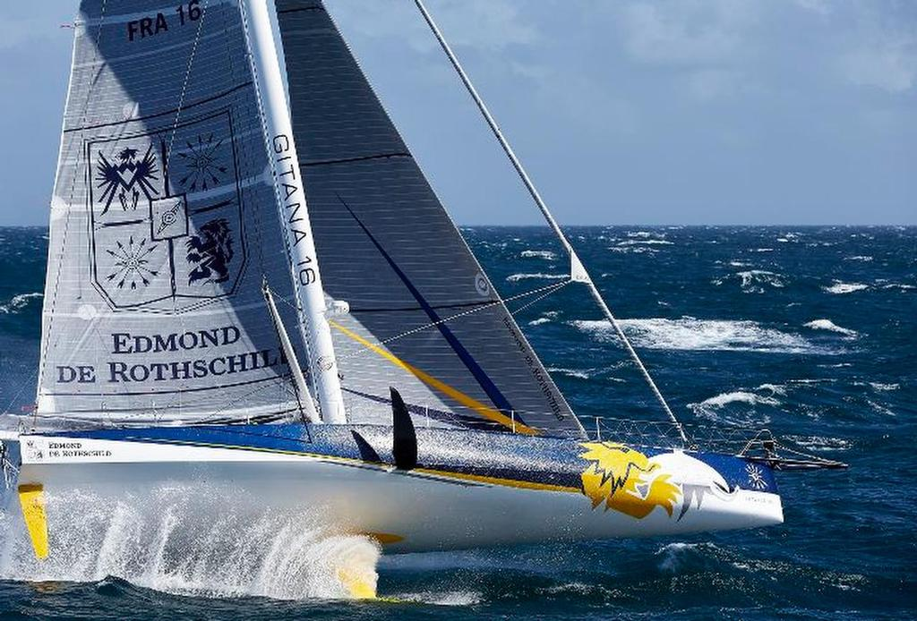 Dramatic video from from the Mono60 Edmond de Rothschild
