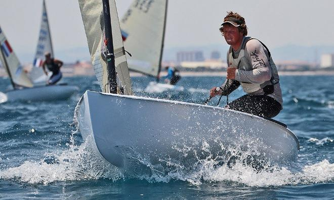 Finn class launches new Olympic sailing team ©  Robert Deaves