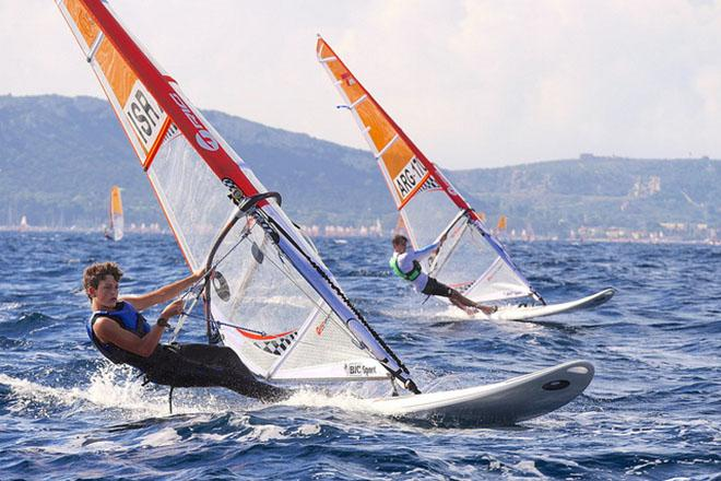 Bic Techno 293 World Championship Images From Day 1