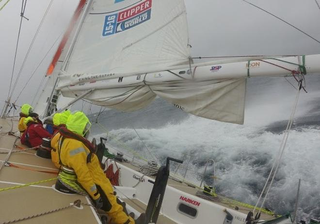 Stormforce winds catch up with western teams - Clipper 2015-16 Round the World Yacht Race © Clipper Ventures