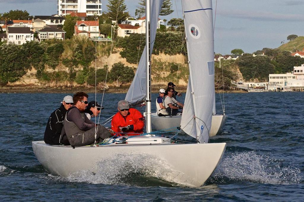 - Etchells Pre-Xmas Series - November 3, 2015 photo copyright Richard Gladwell www.photosport.co.nz taken at  and featuring the  class