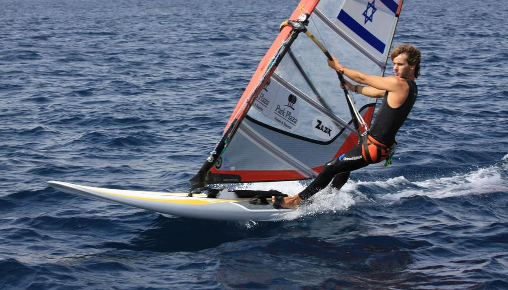 Top Boys RS:X competitor Yoav Omer (ISR) was effectively barred from the World Sailing Youth Championships for political reasons -  Image: Benny Tirosh   © SW
