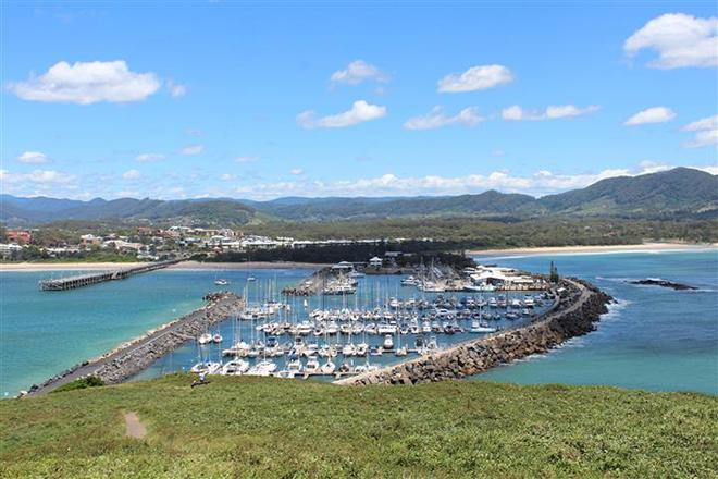 A relaxing day in the Coffs Harbour Yacht Club Marina. © Bronwen Hemmings