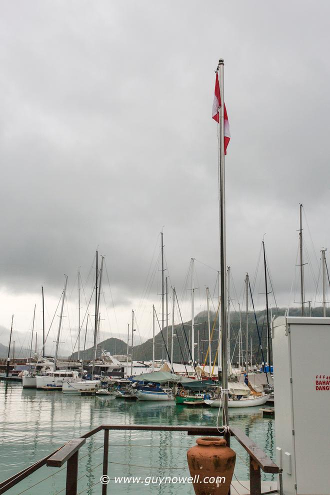 0930h, AP on shore. Royal Langkawi International Regatta 2016. © Guy Nowell http://www.guynowell.com