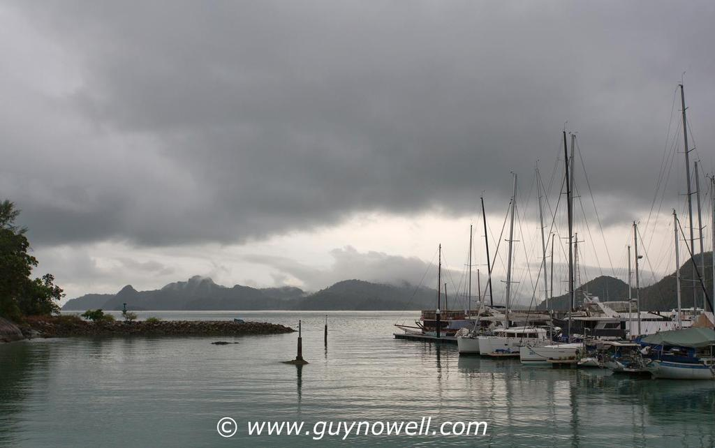 No breeze worth looking at. Royal Langkawi International Regatta 2016. © Guy Nowell http://www.guynowell.com