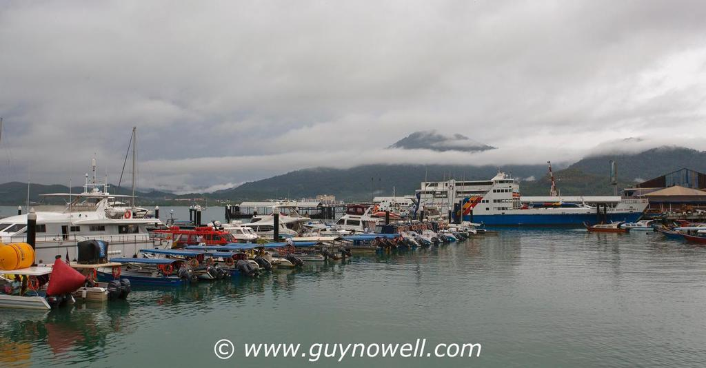 Another cloud cap on Gunung Raya. Royal Langkawi International Regatta 2016. © Guy Nowell http://www.guynowell.com