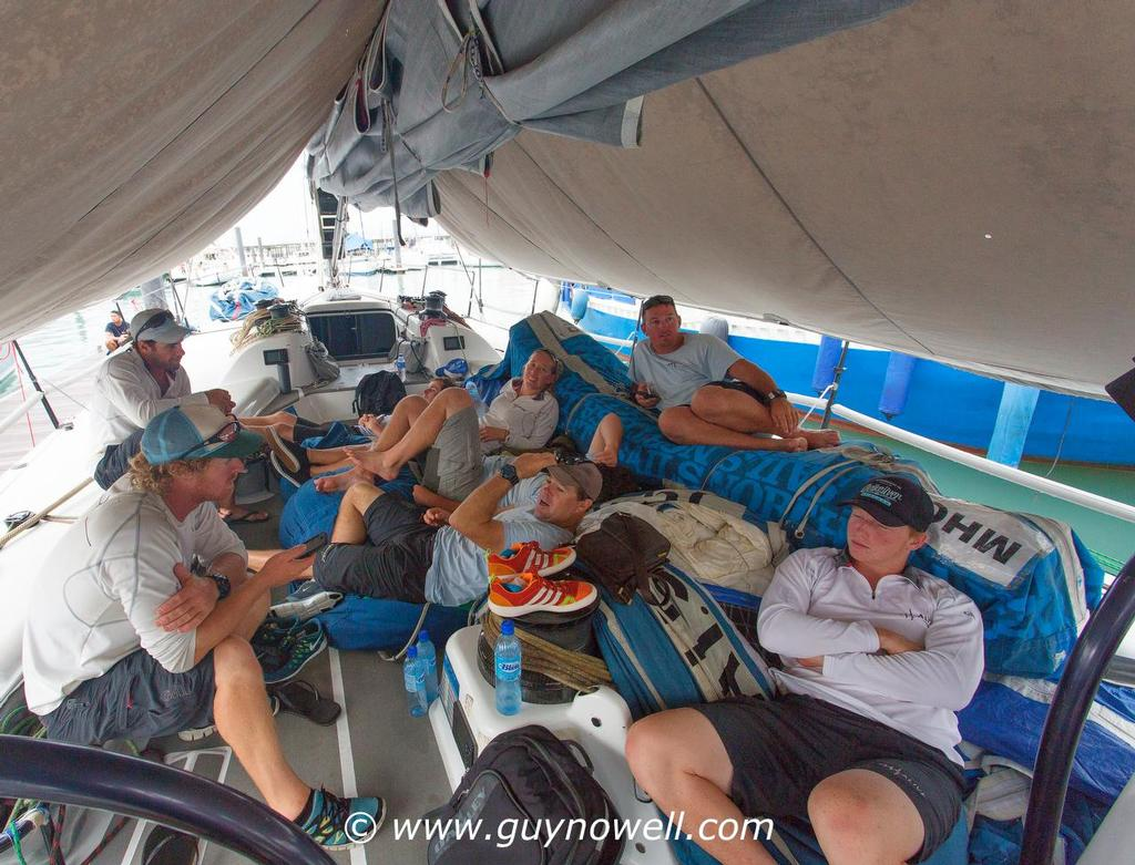 Alive, and ready to race! Royal Langkawi International Regatta 2016. © Guy Nowell http://www.guynowell.com