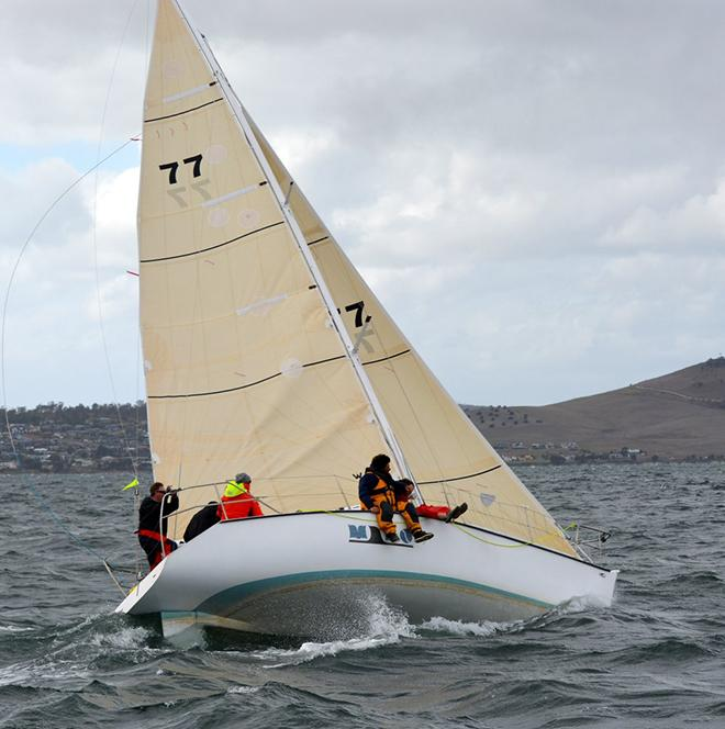 The Farr designed Half Tonner Mako won Division 2 of the IOR Cup. © Peter Watson