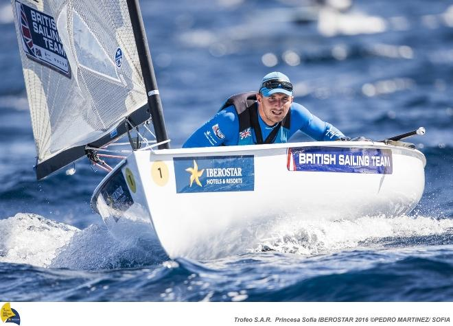 Finn sailor Giles Scott © Pedro Martinez / Sailing Energy / Sofia