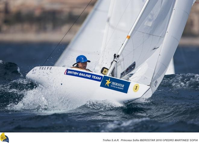 2.4mR sailor Helena Lucas © Pedro Martinez / Sailing Energy / Sofia