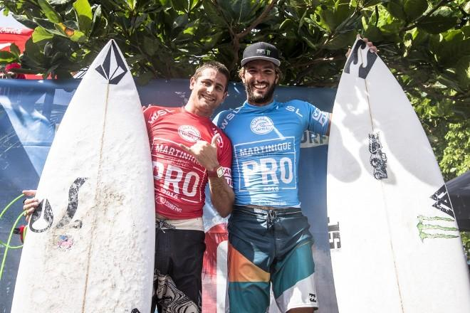 Podium Martinique Surf Pro © Poullenot / Aquashot