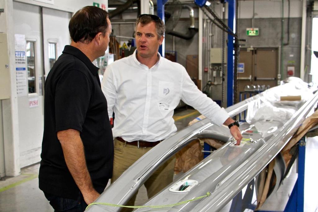 Volvo Ocean Race's Richard Mason, discusses a superyacht