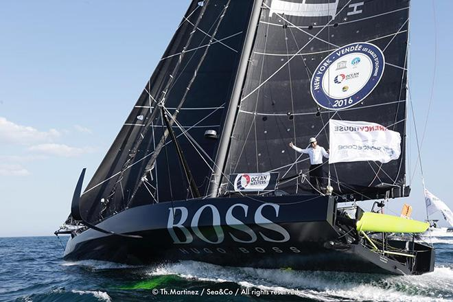 Hugo Boss - 2016 New York–Vendée Transatlantic Race © Thierry Martinez http://www.thmartinez.com