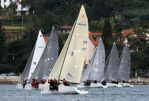 Portoroz, Slovenia - 2016 Melges 24 European Sailing Series photo copyright IM24CA / Andrea Carloni taken at  and featuring the  class