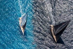 2016 Loro Piana Superyacht Regatta – Day 1 photo copyright BIM / StudioBorlenghi taken at  and featuring the  class