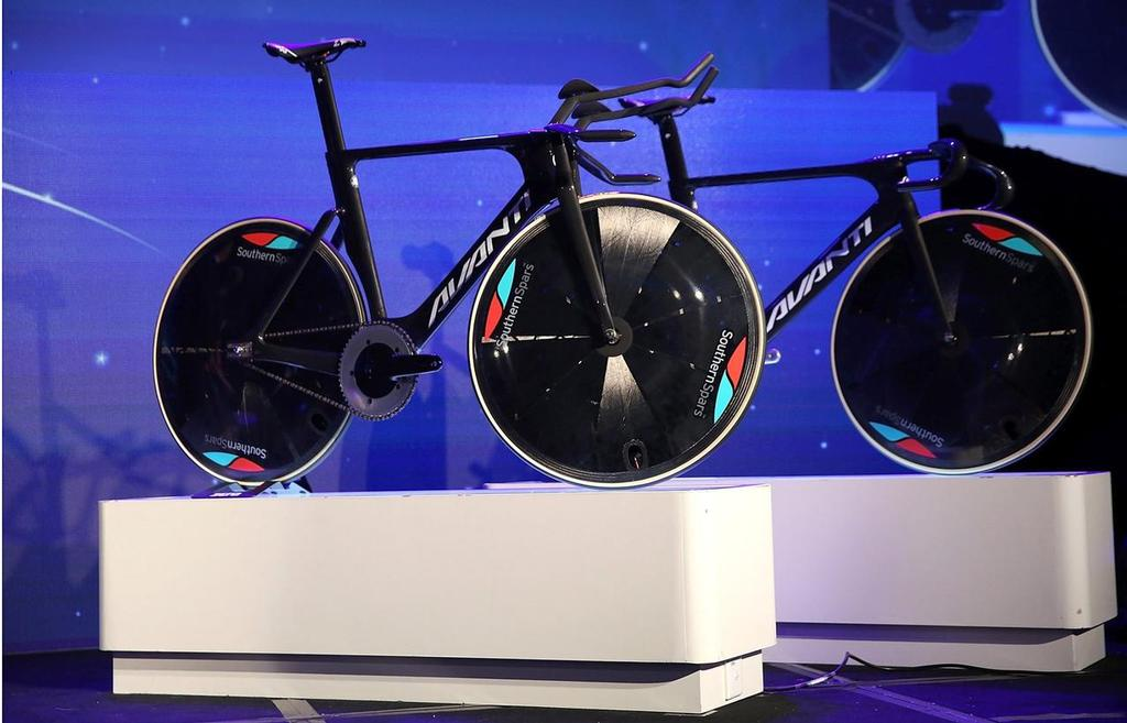 Avanti, Cycling NZ and Southern Spars worked together to develop and manufacture new Track and Road cycles for the 2016 Olympics. Now bike technology has jumped across to the America's Cup © SW