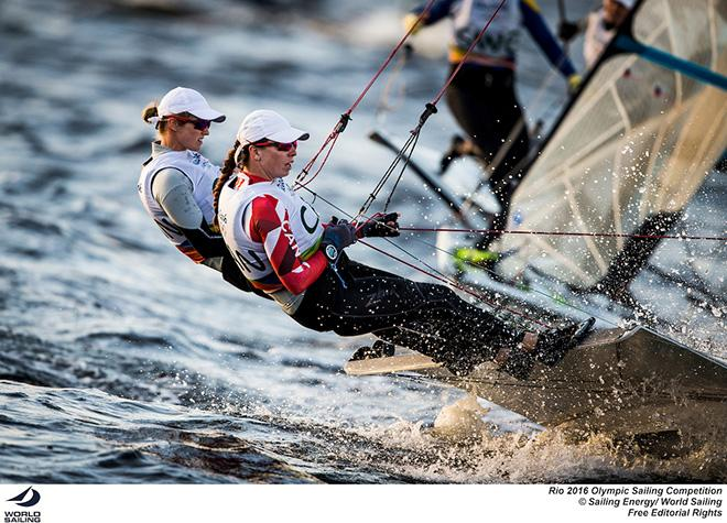 Erin Rafuse and Danielle Boyd - 2016 Rio Olympic and Paralympic Games © Sailing Energy/World Sailing
