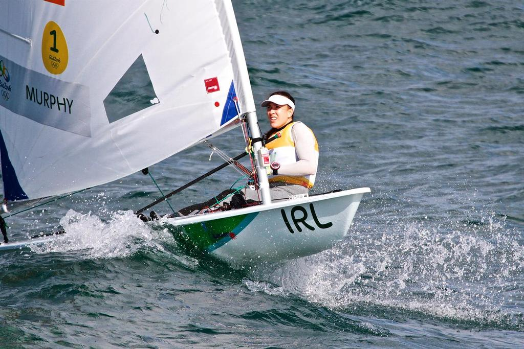 Annals Murphy (IRL) - start of Laser Radial - Day 5 - photo © Richard Gladwell <a target=