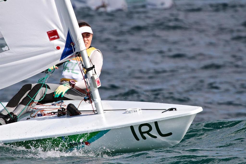 Rio Olympics - Images from the Laser and Laser Radial racing - day 5