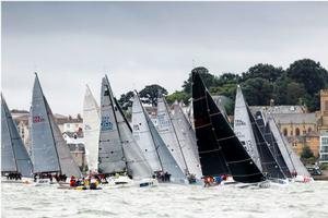 Day 6 - Round the Isle of Wight Race - 2016 Brewin Dolphin Commodores' Cup photo copyright  Paul Wyeth / RORC taken at  and featuring the  class