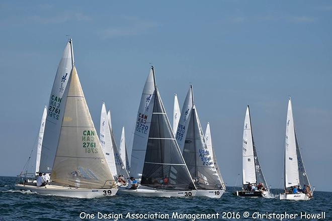2016 J/24 driveHG.ca North American Championship - Day 1 © Christopher Howell